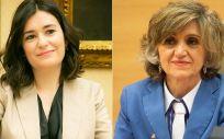 Carmen Montón y María Luisa Carcedo, las dos últimas ministras de Sanidad (Montaje ConSalud.es).
