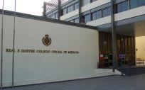 Fachada del Colegio de Médicos de Sevilla