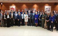 Foto de familia del nuevo Consejo Asesor de Sanidad y Servicios Sociales, presidido por María Luisa Carcedo.