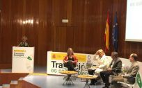 """La ministra de Sanidad, María Luisa Carcedo, durante el evento """"Contaminación del aire y salud"""""""