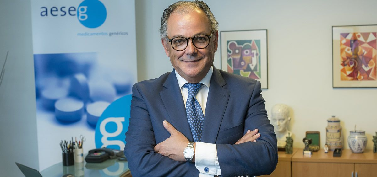 El secretario general de Aeseg, Ángel Luis Rodríguez de la Cuerda.