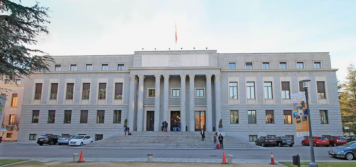 Sede central del Consejo Superior de Investigaciones Científicas (CSIC) (Foto. CSIC)