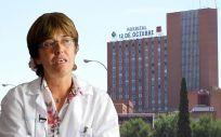 Carmen Martínez de Pancorbo, directora gerente del Hospital 12 de Octubre de Madrid