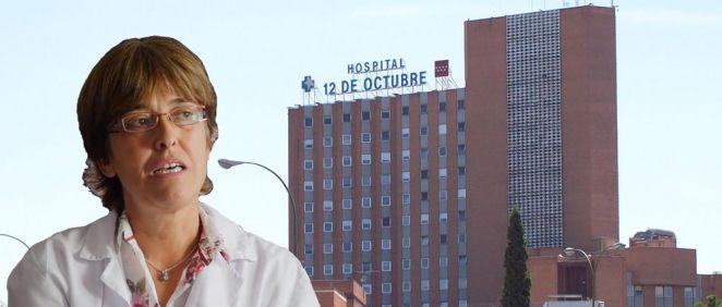 Carmen Martínez de Pancorbo es directora gerente del Hospital 12 de Octubre de Madrid