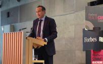 José Luis Enríquez, CEO de Real Life Data, durante su intervención en la jornada 'Forbes Summit Healthcare'