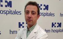 El doctor Andrés Vilas, neumólogo del Hospital HM Rosaleda, coordinador del Programa de Detección Precoz de Cáncer de Pulmón