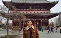 José Manuel Busto Leis, número 1 del MIR durante su viaje a Japón