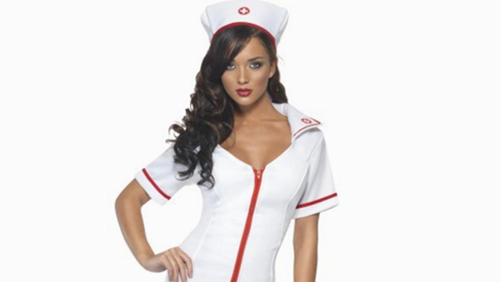 Disfraz de carnaval que sexualiza la figura de la enfermera