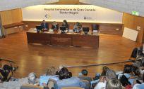 Momento de la presentación del Libro Blanco de la Ostomía en España