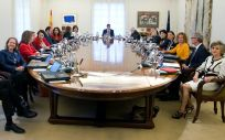 Mesa del Consejo de Ministros.