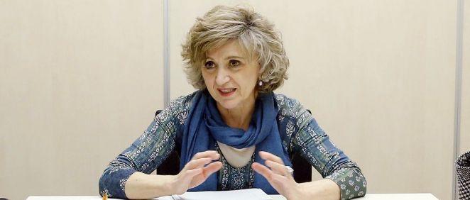 María Luisa Carcedo, ministra de Sanidad, Consumo y Bienestar Social del Gobierno de España