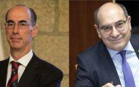 Jesús Vázquez Almuiña y Jon Darpon, consejeros de Sanidad de Galicia y Salud de País Vasco.