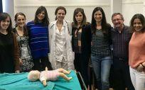 La Fundación Jiménez Díaz, elegida para formar en estabilización de emergencias pediátricas