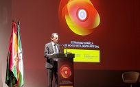 Pedro Duque, durante la presentación de la Estrategia Española de I+D+i en Inteligencia Artificial