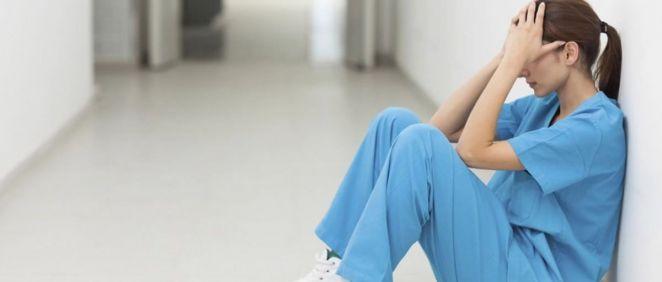 Personal sanitario y salud mental  (Foto. ConSalud)