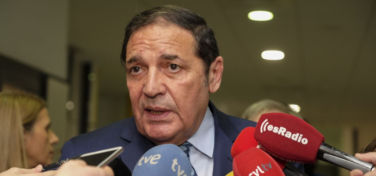 Antonio María Sáez Aguado, consejero de Sanidad en Castilla y León