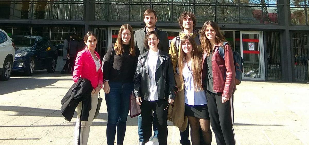 Representantes de las asociaciones de estudiantes de los grados con acceso a la Formación Sanitaria Especializada.