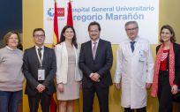 Profesionales del Hospital Universitario Gregorio Marañón participantes en las jornadas sobre cardiología pediátrica