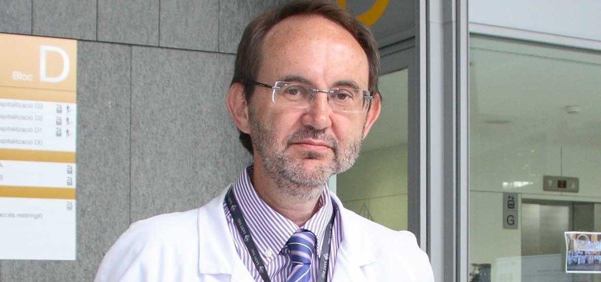 El presidente de la Sociedad Española de Hematología y Hemoterapia (SEHH), Jorge Sierra.