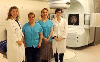 Blusas compatibles con el tratamiento del equipo de radioterapia