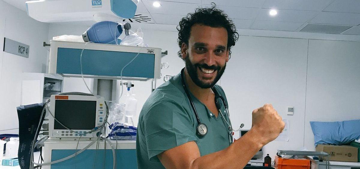 El doctor Jesús Candel, popularmente conocido como Spiriman