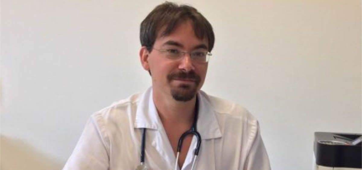 Roi Piñeiro Pérez, jefe del Servicio de Pediatría del Hospital General de Villalba (Foto. ConSalud.es)