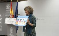 María Luisa Carcedo, ministra de Sanidad en funciones, en la presentación del calendario vacunal único. (Foto. ConSalud)