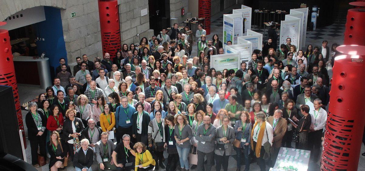 Asistentes a la Reunión Anual del Ciberer sobre enfermedades raras