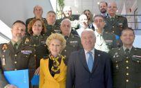 Reunión entre los representantes del Consejo General de Enfermería y la Escuela Militar de Sanidad
