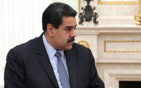 Nicolás Maduro, durante una visita institucional como presidente de Venezuela