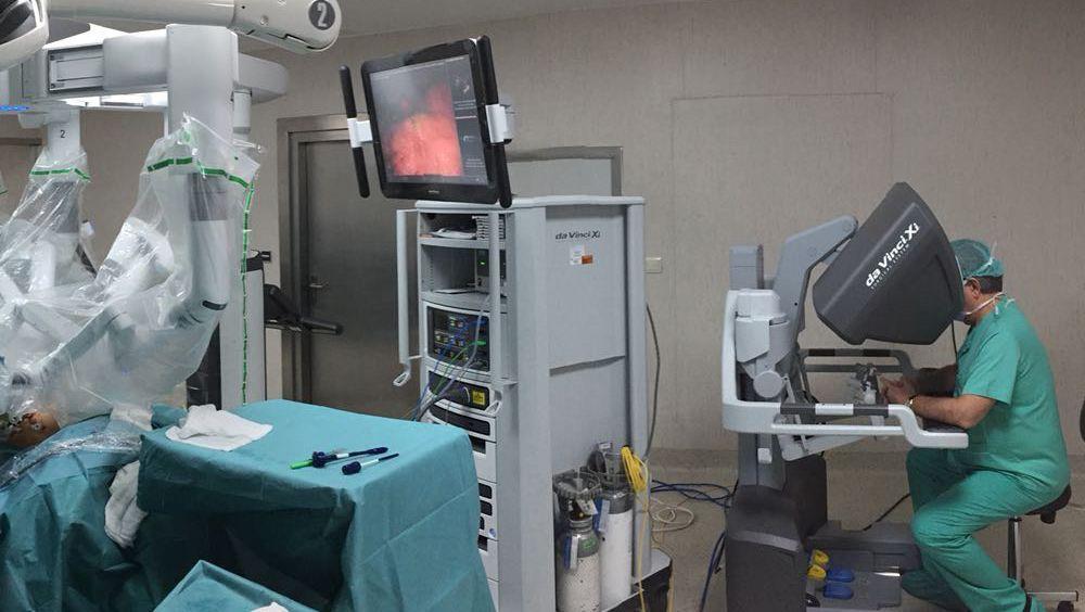 cirugía robótica de próstata da vinci italia
