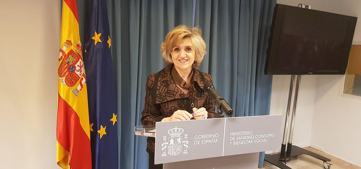 La ministra de Sanidad, María Luisa Carcedo (Foto: ConSalud.es)