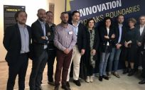 Imagen de los representantes de la delegación gallega junto a la israelí en las jornadas 'Learning Expedition a Israel'.
