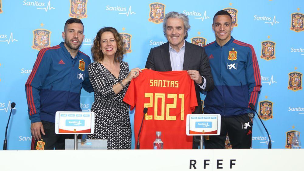 Sanitas y la Selección Española renuevan su acuerdo