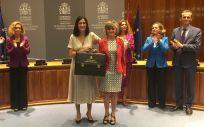 Toma de posesión de Carcedo como ministra de Sanidad de mano de su predecesora Carmen Montón en septiembre