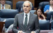 Enrique Ruiz Escudero, consejero de Sanidad de la Comunidad de Madrid.