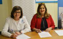 Firma del acuerdo entre Alcer y el Hospital Universitario de Torrejón