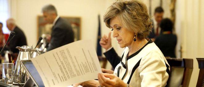 María Luisa Carcedo, ministra de Sanidad