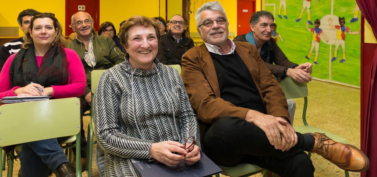 La consejera de Sanidad de Cantabria, María Luisa Real, durante la presentación del proyecto que se desarrolará en el valle del Nansa | Foto: Raúl Lucio
