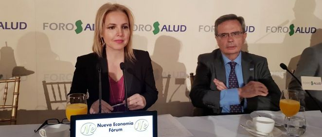 Beatriz Domínguez-Gil y Rafael Matesanz, actual directora y exdirector de la ONT (Foto: ConSalud.es)