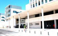 Fachada del Hospital Universitario del Vinalopó