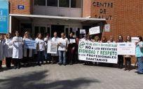 Imagen de una de las protestas celebradas la pasada semana en la Comunidad Valenciana.