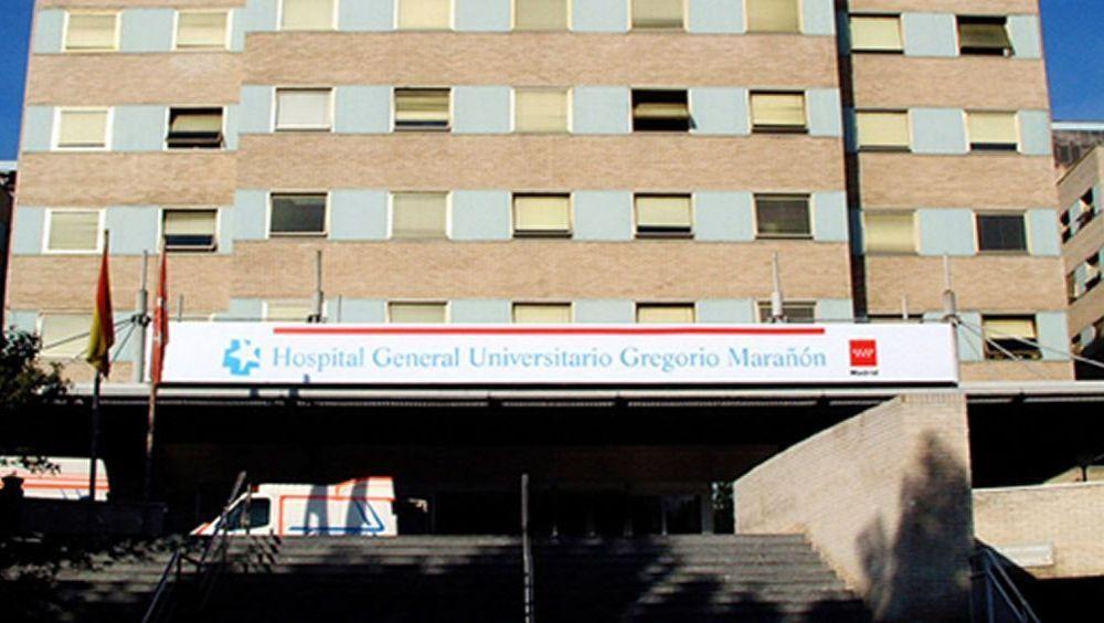 Fachada del Hospital General Universitario Gregorio Marañón de Madrid