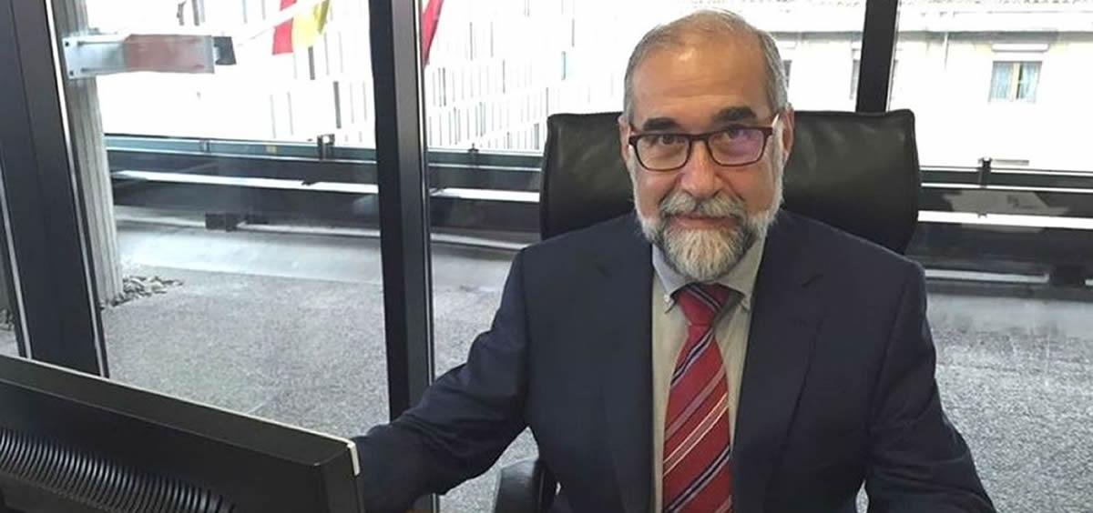 Fernando Domínguez, consejero de Salud de Navarra