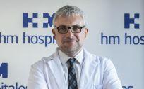 Jesús García Donas, jefe de la Unidad de Tumores Ginecológicos y Genitourinarios de HM CIOCC, que ha liderado el estudio sobre cáncer de próstata