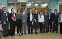 Participantes de la Jornada Oncológica Multidisciplinar organizada por el Hospital La Luz