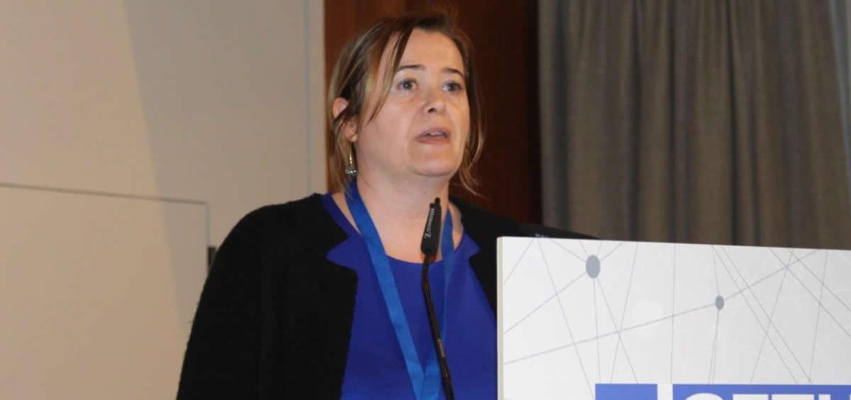 Lucrecia Yáñez, del Servicio de Hematología del Hospital Universitario Marqués de Valdecilla