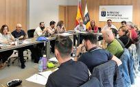Reunión de la Mesa Sectorial de Sanidad de Canarias