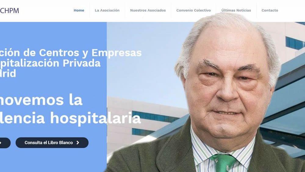Isidro Díaz de Bustamante, presidente de la Asociación de Clínicas y Hospitales Privados de Madrid