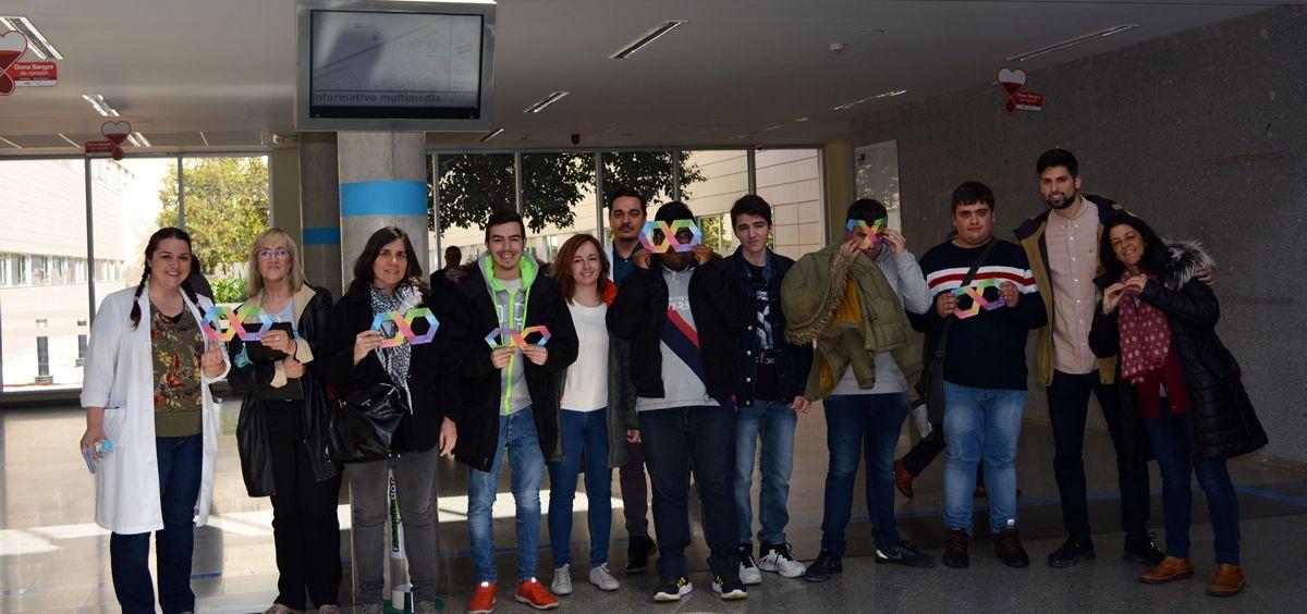 El Hospital Universitario de Torrejón organiza un taller con adolescentes con autismo